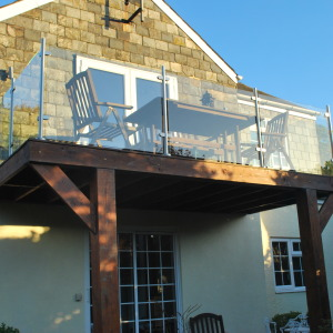 Balcony installed by Radley Veale