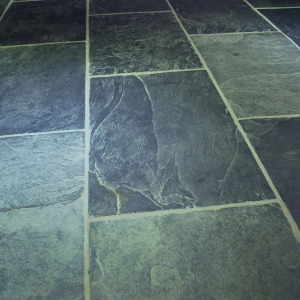 Flag stone tiling in Totnes for kitchen install