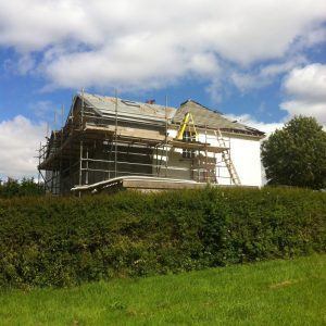 house extension, building services