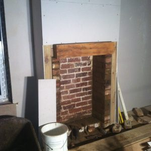Fireplace, building services
